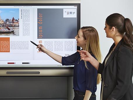 Ecran interactif entreprise
